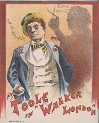 Advert for JL Toole in 'Walker London' 4003